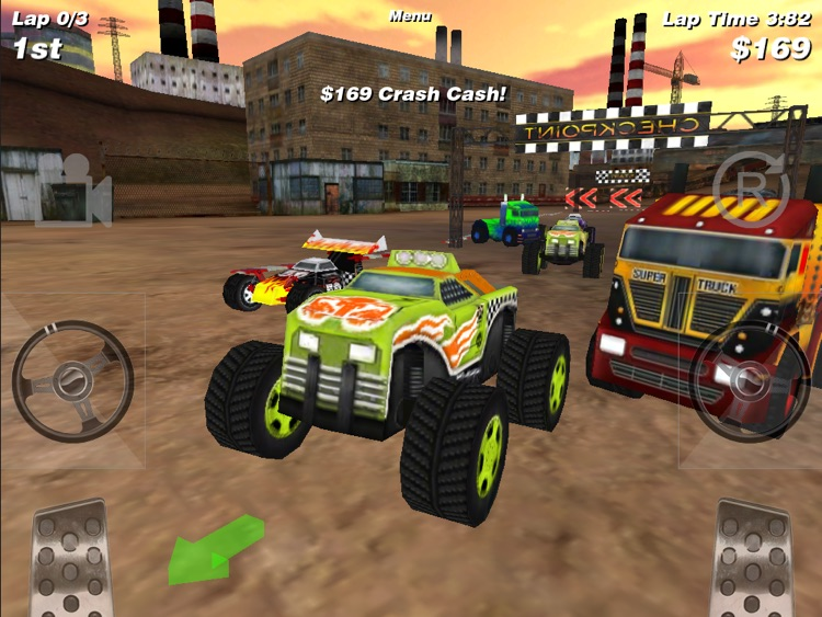 4x4 Offroad Racing HD FREE screenshot-3