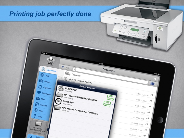 Print Agent PRO for iPad screenshot-4