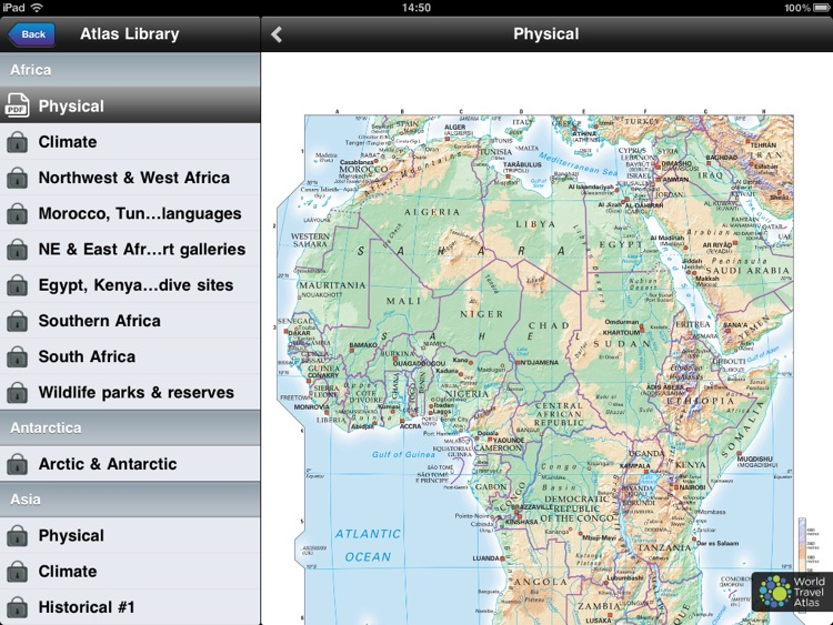 World Travel Atlas – Free screenshot-3