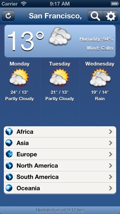 World Weather - Pro