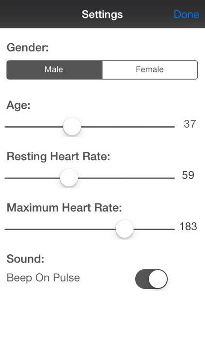 myPulse - Instant Heart Rate Monitor screenshot-3