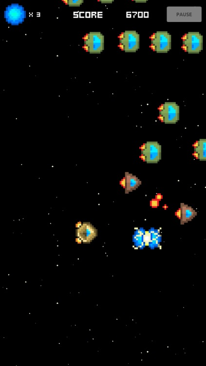 A Retro Space Invader Shooter Game screenshot-4