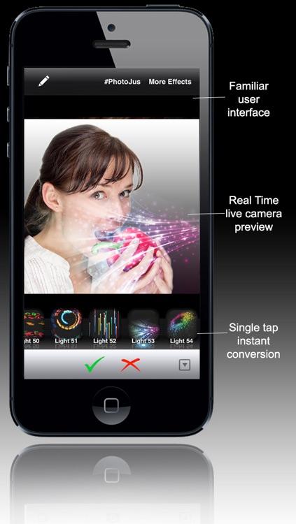 PhotoJus Light FX Pro - Pic Effect for Instagram screenshot-4