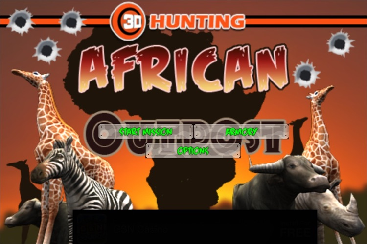 3D Hunting : African Outpost