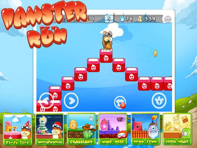 Hamster Run HD screenshot-0