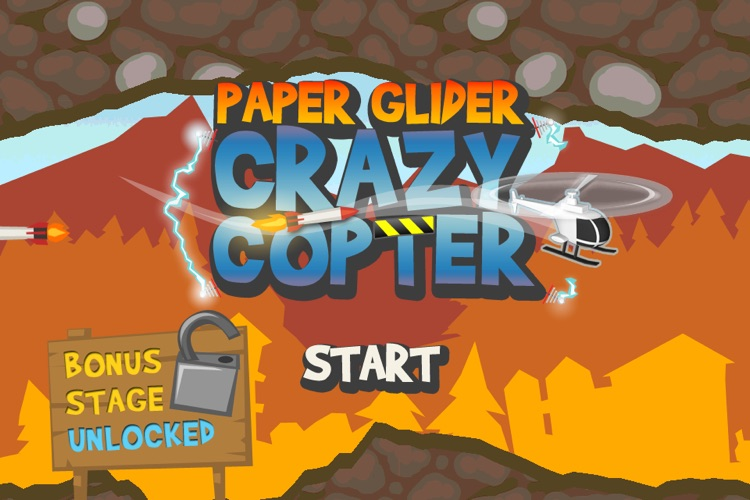 Paper Glider Crazy Copter screenshot-0
