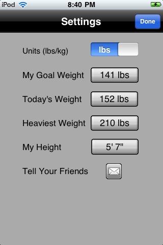 Virtual Weight Loss Model screenshot-3