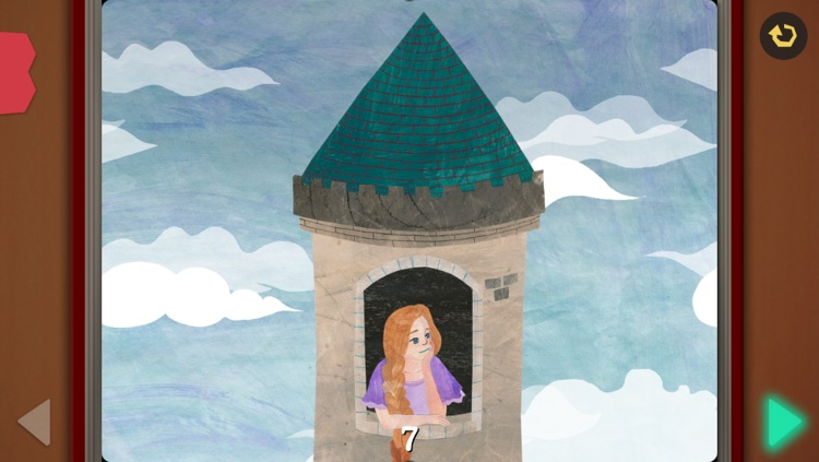 Rapunzel - Pink Paw Books Interactive Fairy Tale Series screenshot-3