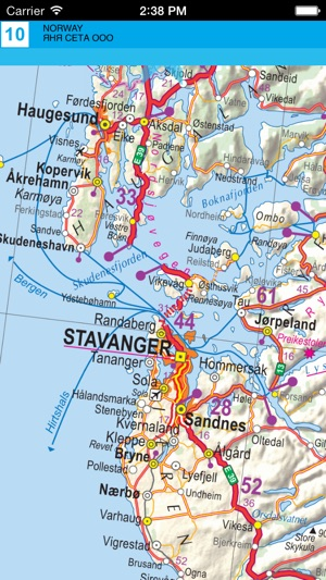 Norway road map on the app store publicscrutiny Image collections
