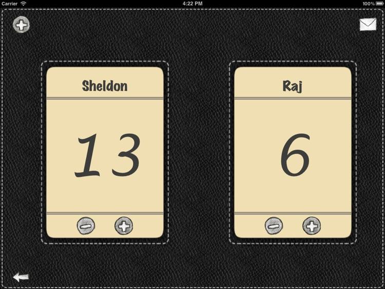 Scoreboard for iPad screenshot-3