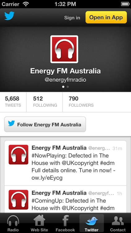 Energy FM Australia screenshot-3