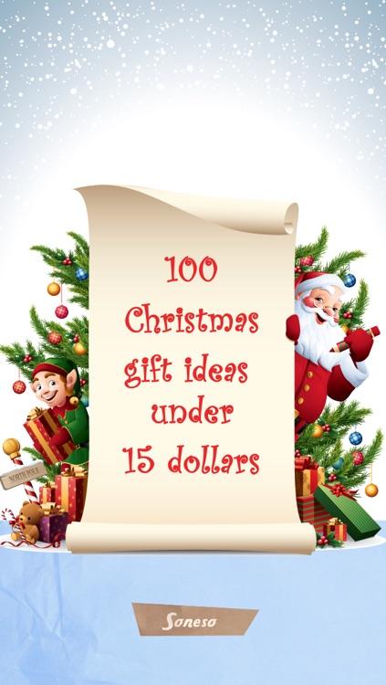 100 Christmas gift ideas under 15 dollars by Soneso GmbH