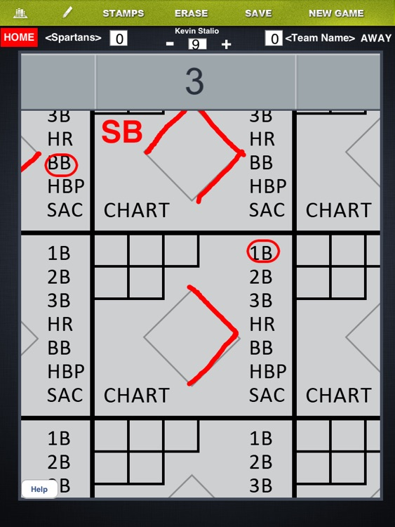 Baseball Scorebook screenshot-4
