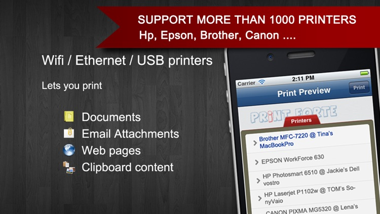 PrintForte for Document