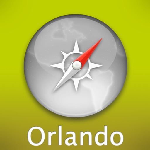 Orlando Travel Map