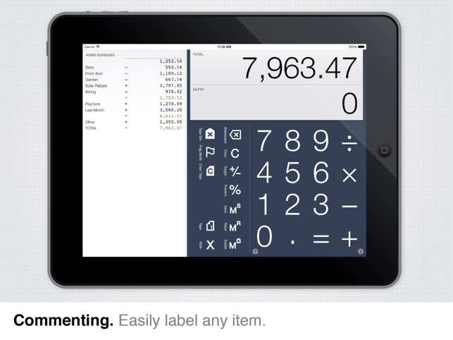 Digits, the calculator for humans Screenshot