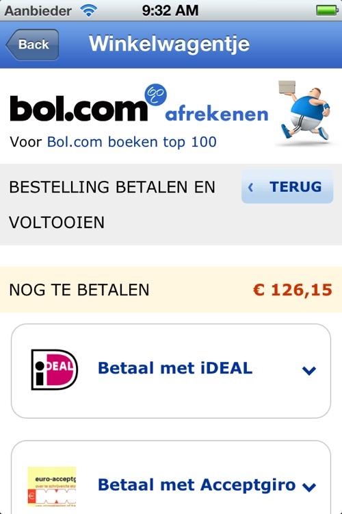 Boeken Top 100 app voor bol.com screenshot-4