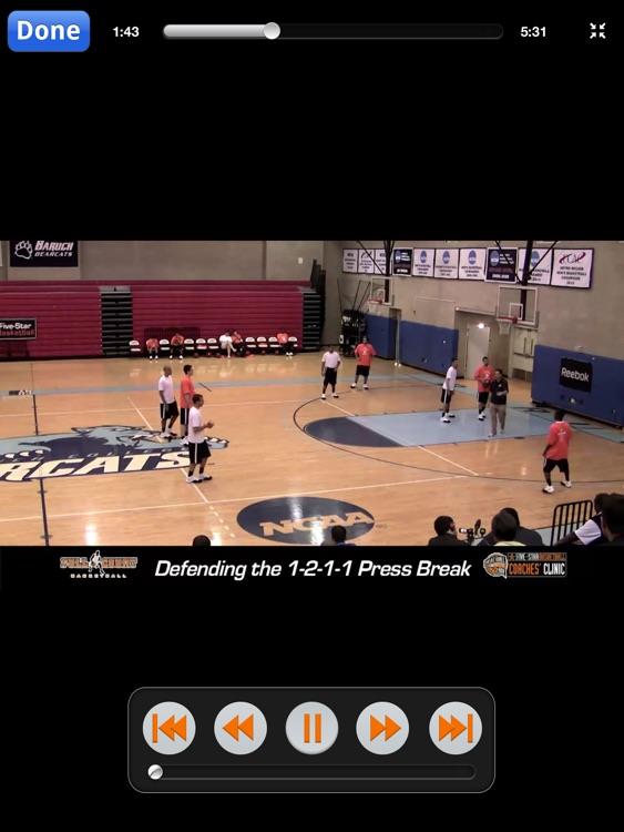 2-2-1 Press - With Coach Tom Moore - Full Court Basketball Training Instruction - XL screenshot-4