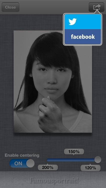 Famousportrait! screenshot-3