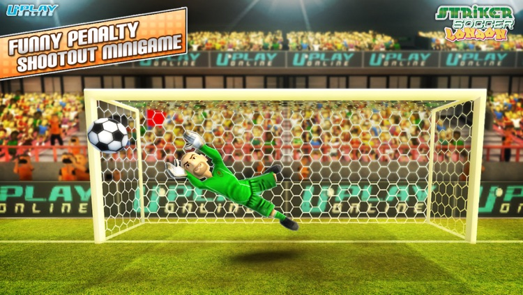 Striker Soccer London: your goal is the gold screenshot-3