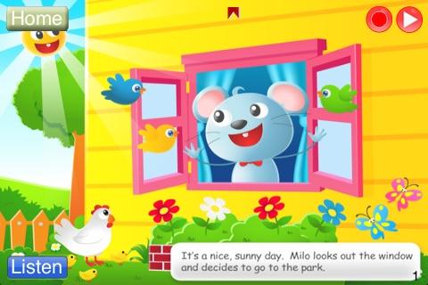 Speech with Milo: Interactive Storybook