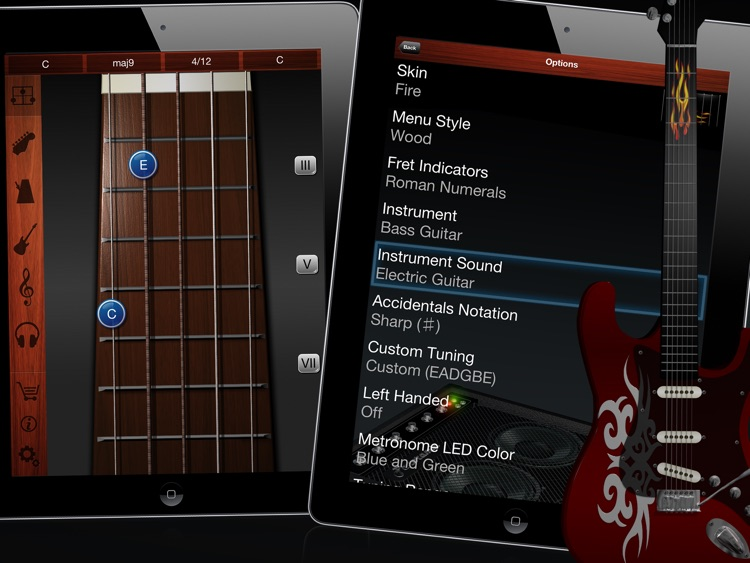 Guitar Suite HD - Metronome, Tuner, and Chords Library for Guitar, Bass, Ukulele screenshot-4