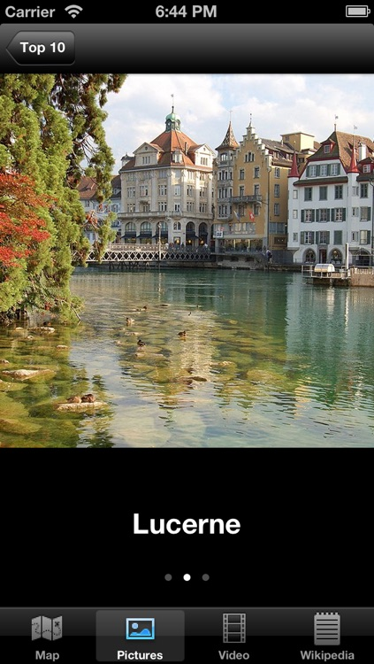 Switzerland : Top 10 Tourist Destinations - Travel Guide of Best Places to Visit screenshot-1