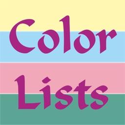 Color Lists Lite