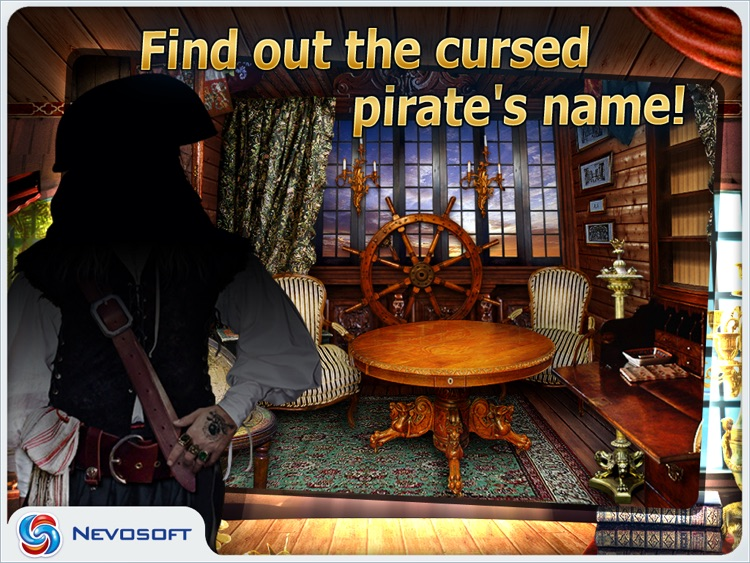 Pirate Adventures HD lite: hidden object game screenshot-3