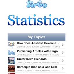 SirGo Stats