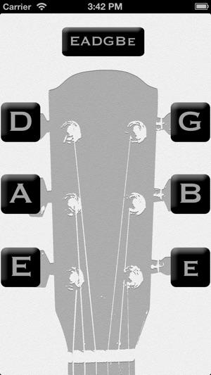 gitarr stämning