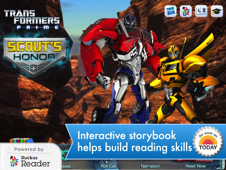 Transformers: Ruckus Reader