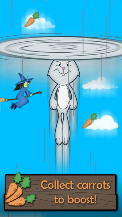"""Flying Bunny Top - by """"Best Free Addicting Games"""" screenshot-3"""