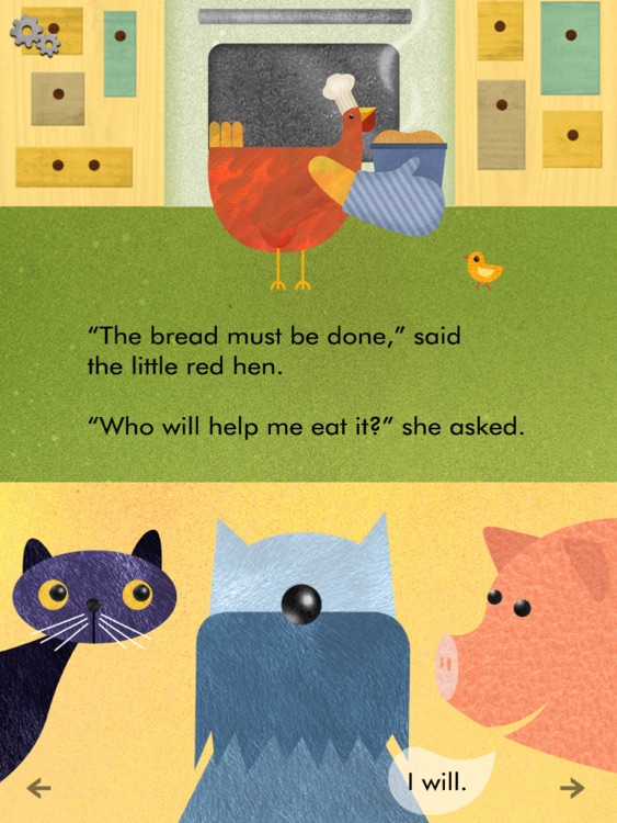 Little Red Hen - Interactive Reader screenshot-4