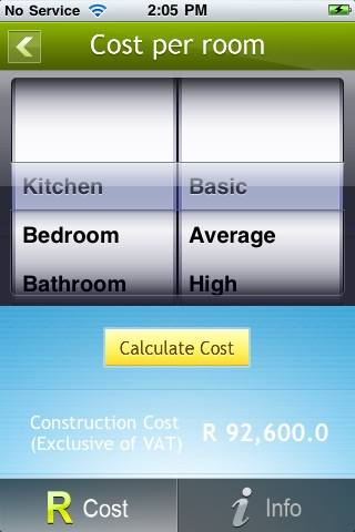 Building Cost Calculator - Residential