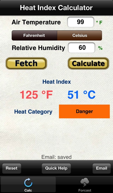 Heat Index & Heat Category