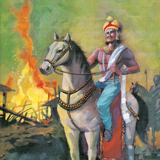 Ashoka (The Great Emperor) - Amar Chitra Katha Comics icon