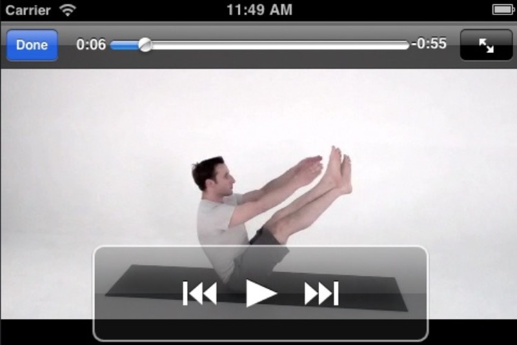 Pilates Classic Lite screenshot-2