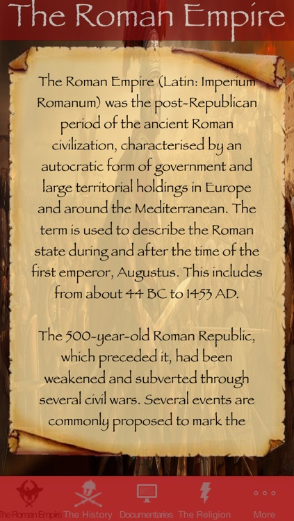 S.P.Q.R. - The Roman Empire screenshot-0