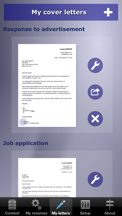 giga-cv Your tailor-made resume