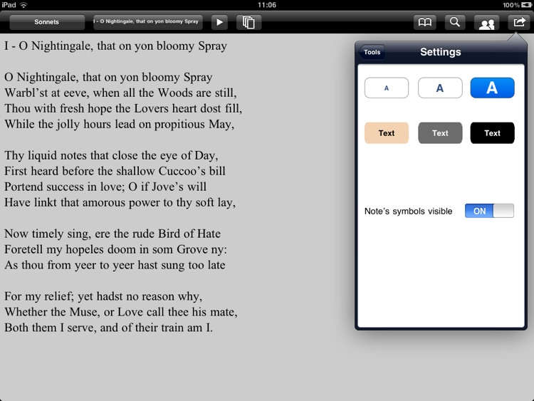 Milton: Complete poems for iPad screenshot-3
