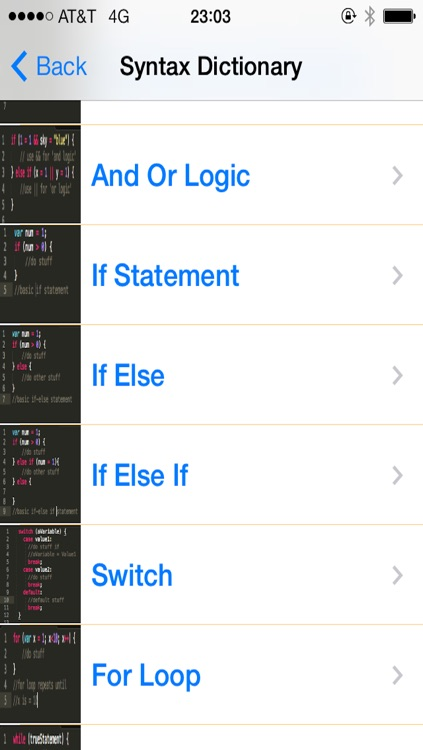 JavaScript Tutorial and Flashcards screenshot-1