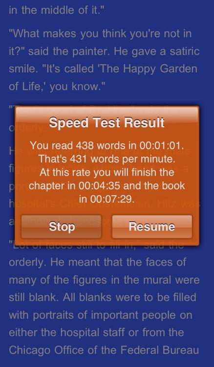 QuickReader Lite - eBook Reader with Speed Reading