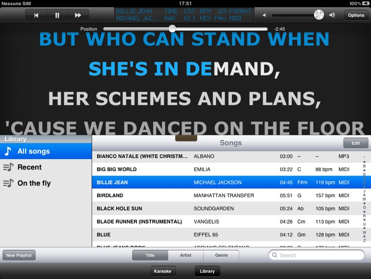 Grinta Karaoke LITE screenshot-1