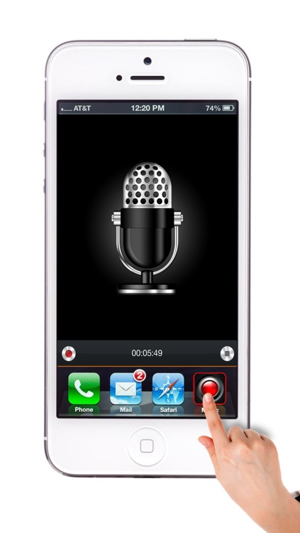 One Touch REC - Instant audio recorder