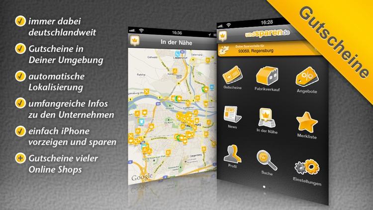 Gutscheine undSPAREN.de - Coupons mit Deinem iPhone einlösen