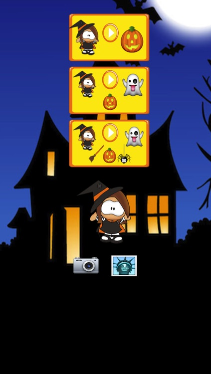 Halloween Witch Maze Race screenshot-4