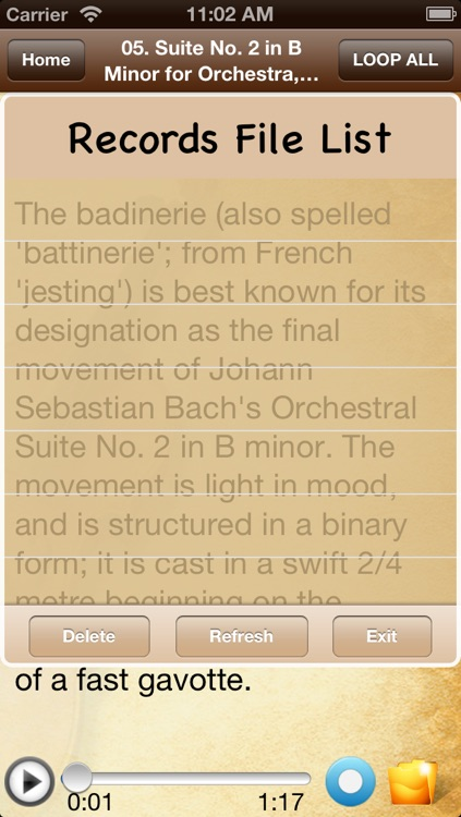 Masterpieces of Great Composers-1200 songs screenshot-4