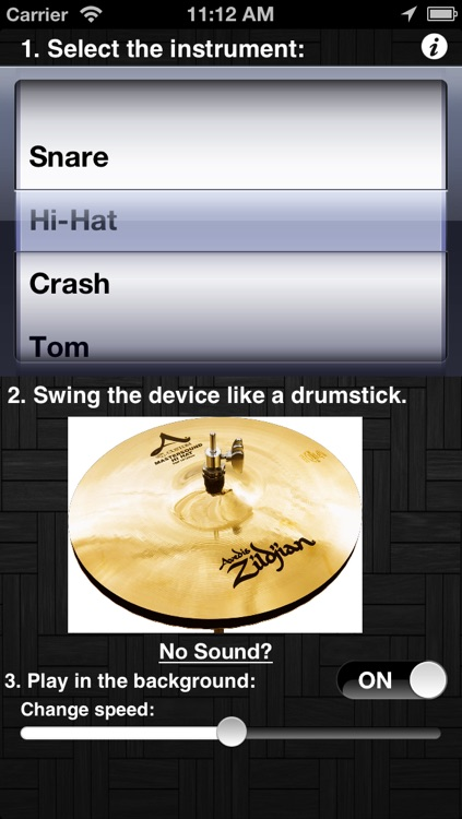 Virtual Drums