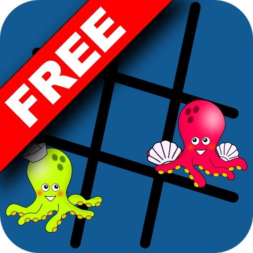 Tic Tac Octopus FREE icon